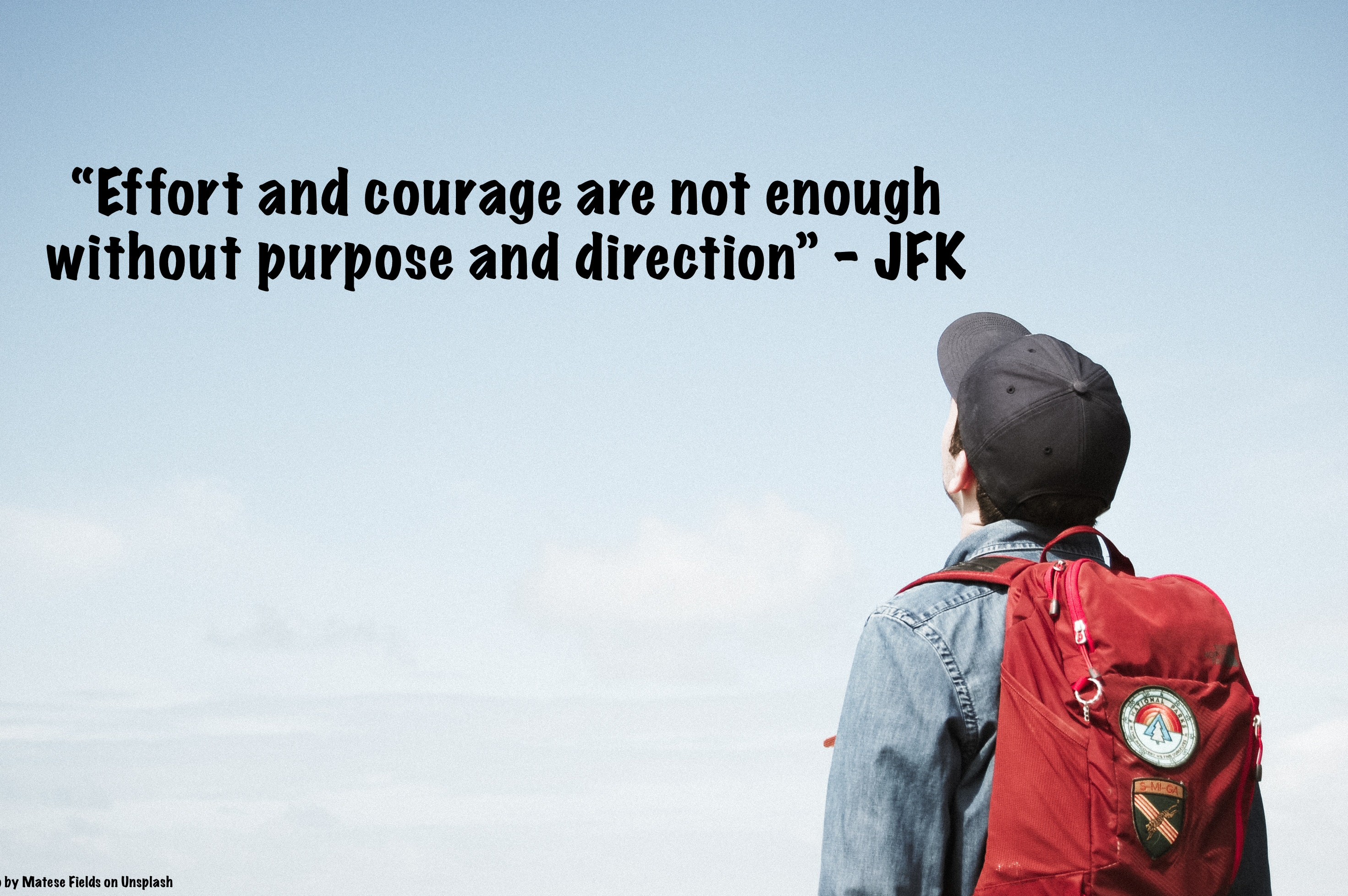 Executive Function Coaching - Effort and courage are not enough without purpose and direction