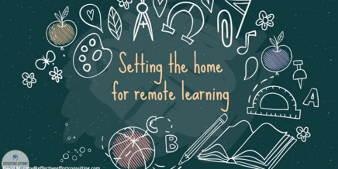 setting the home for remote learning